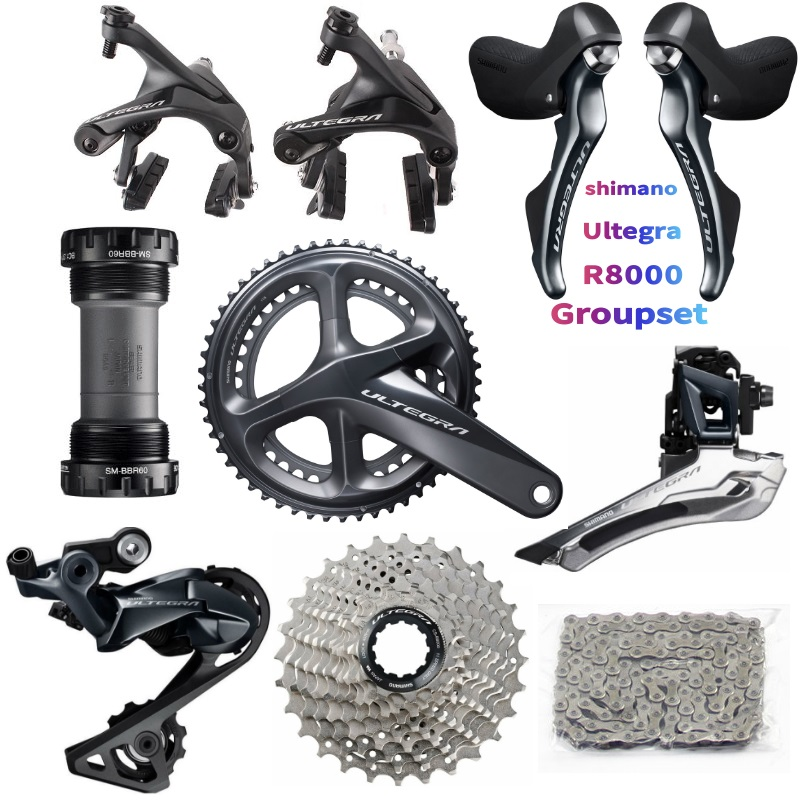 Shimano 105 R7000 2X11 Speed Road bike Groupset  12-25 11-28//30//32//34T 6 PCS