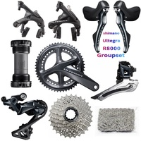 Shimano R8000 Groupset Ultegra R8000 Derailleurs Road Bike Groupset 170/172.5/175mm 50 34 52 36 53 39 Bicycle GroupteSet 22Speed