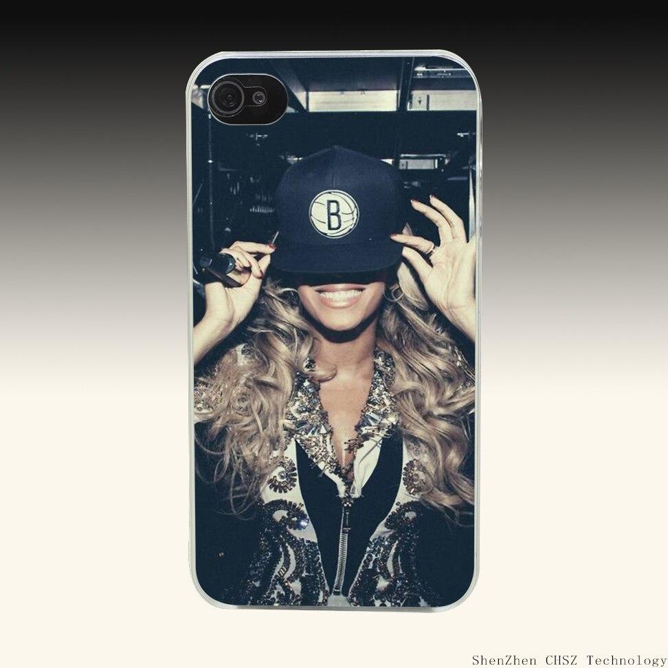 571O Hip Hop Beyonce Sickah Queen B Popular Pop Live Hard Clear Case Transparent Cover for iPhone 4 4s 5 5s SE 6 6s 7 Plus