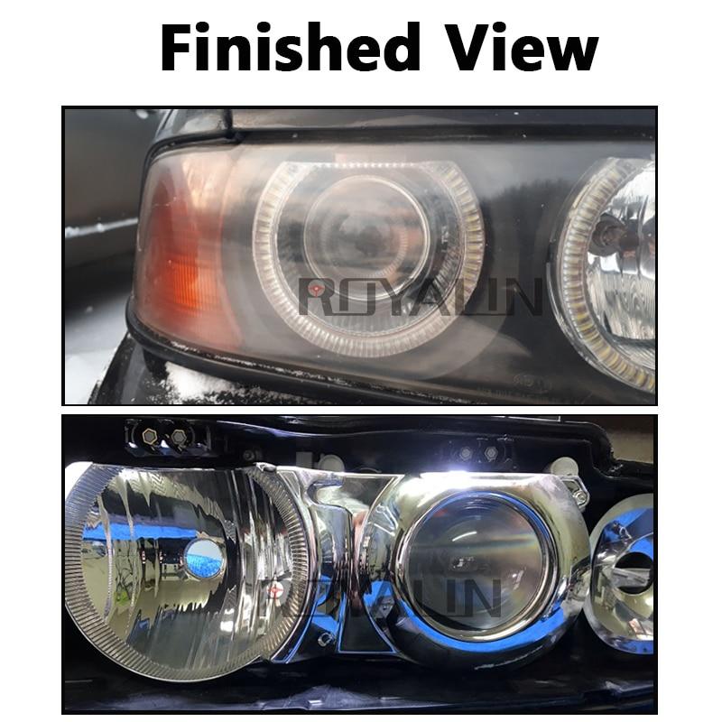 Hella EVOX 2.0 D2S proyektor üçün ROYALIN BMW E39 E60 Ford Audi A6 - Avtomobil işıqları - Fotoqrafiya 6