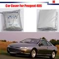 Full Car Cover UV Anti Outdoor Rain Sun Snow Preventing Protector Cover Dustproof For Peugeot 406