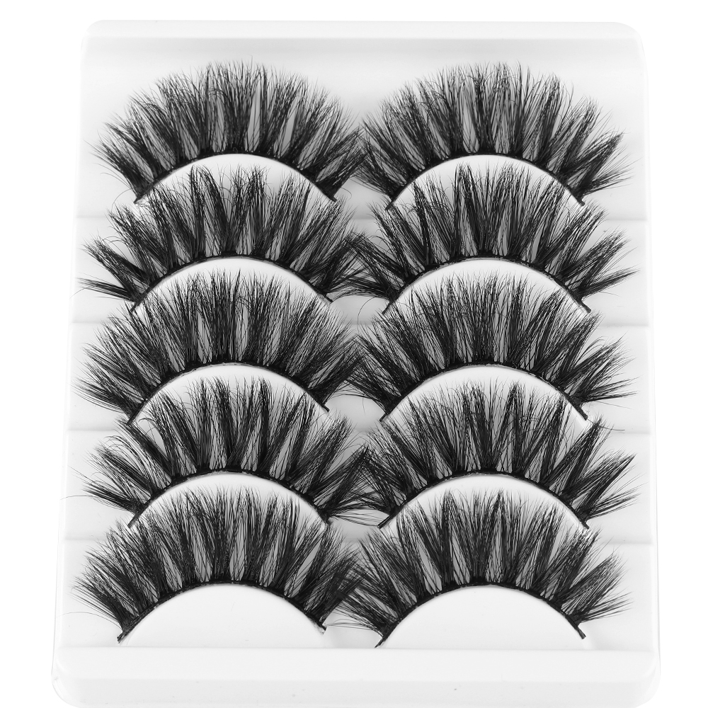 US $0.51 10% OFF|5 Pairs Eyelashes 3d Mink Lashes Natural Long 1 Box Mink Eyelashes 1cm 1.5cm 3d False Eyelashes Full Strip Lashes Thick Long-in False Eyelashes from Beauty & Health on Aliexpress.com | Alibaba Group