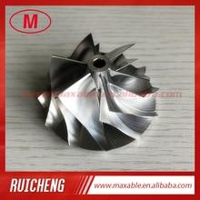 RHF5 6+ 6 лезвия 44,90/58,00 мм Высокая производительность заготовка/фрезерный/алюминий 2618 колеса компрессора для VF54