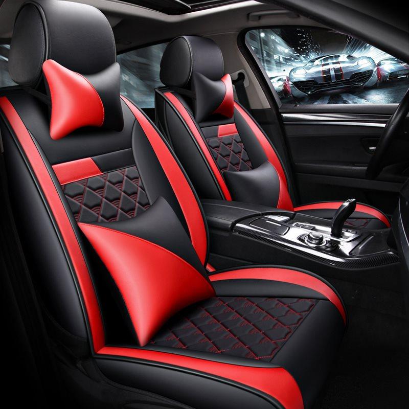100% Wahr Vorne + Hinten Full Set Auto Sitz Abdeckung Für Toyota Rav4 Chr Avensis Camry 4 Runner Reiz Land Cruiser Avalon Fortuner Auto Zubehör Starke Verpackung