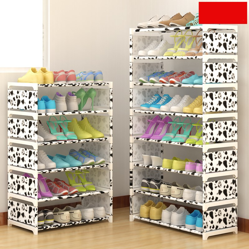 Multi Layer Shoe Rack Nonwovens Steel Pipe Easy to install home Shoe cabinet Shelf Storage Organizer Stand Holder Space Saving multi layer shoe rack nonwovens steel pipe easy to install home shoe cabinet shelf storage organizer stand holder space saving