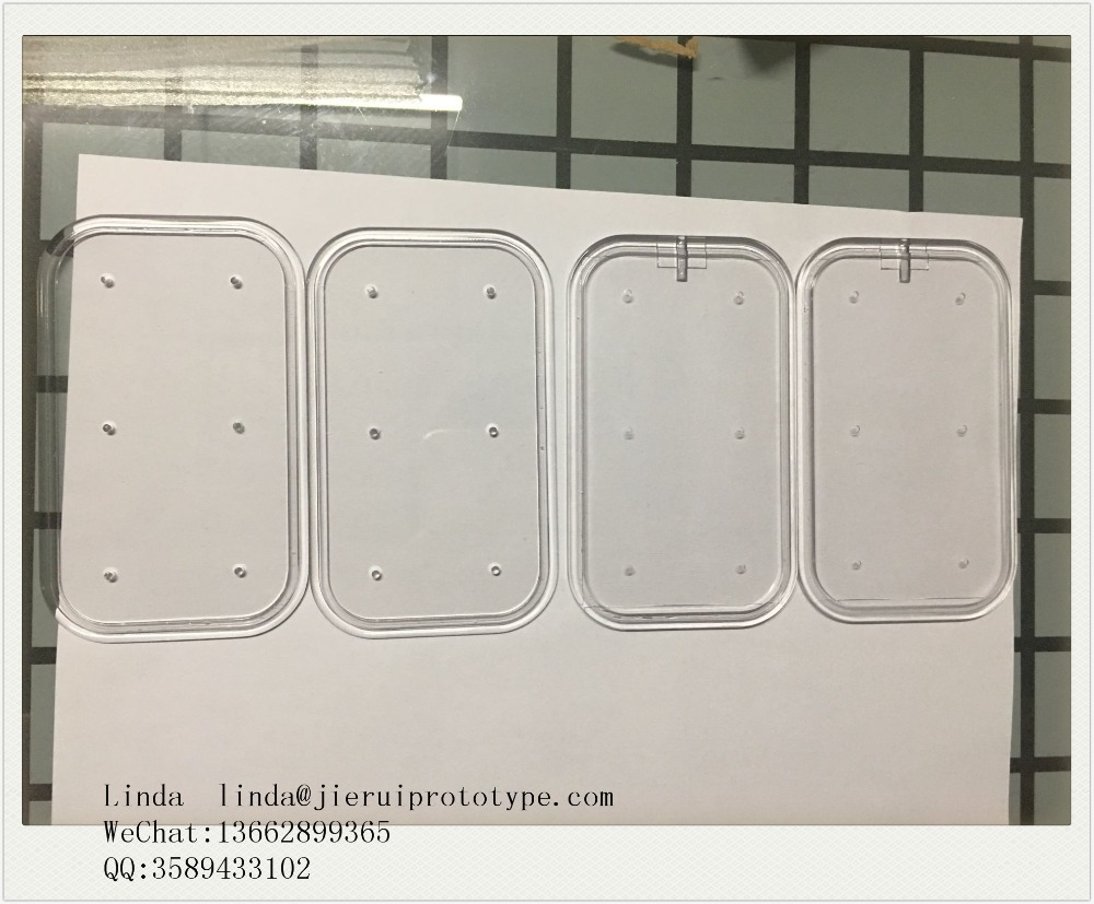 cnc clear transparent polycarbonate prototyping electron prototype Transparent parts, semi-transparent parts processing