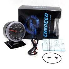 CNSPEED 60MM Car Auto Voltmeter 8-18 Volt Voltage Gauge Volts Voltage Black Face With White& Amber Lighting Car meter