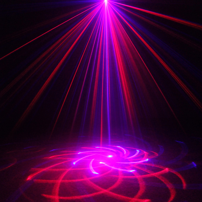 Chims DJ Laser Lighting 3 Lens 20 Pattern Club RB Laser Light Blue LED Stage Home Party Professional Projector Xmas Disco L20RBChims DJ Laser Lighting 3 Lens 20 Pattern Club RB Laser Light Blue LED Stage Home Party Professional Projector Xmas Disco L20RB