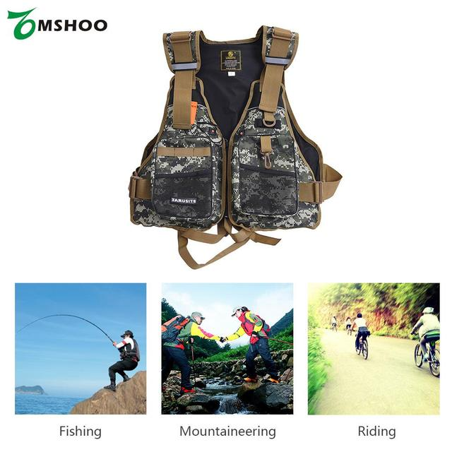 Professional Life Vest Safety Fishing Clothes High Quality Jacket Water Sport Survival Suit