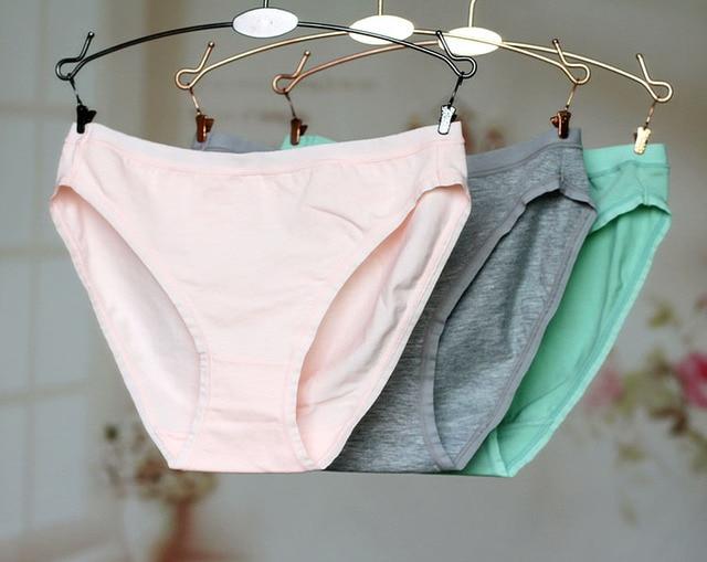 Aliexpress.com : Buy 5pcs Fashion Plus Size Candy Women Cotton ...