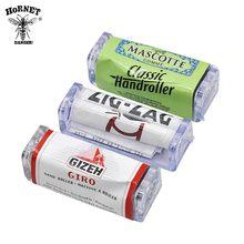 купить 2Types 70MM rolling machine for kingsize paper case gizeh giro/mascotter Tobacco Roller rolling machine case по цене 69.69 рублей