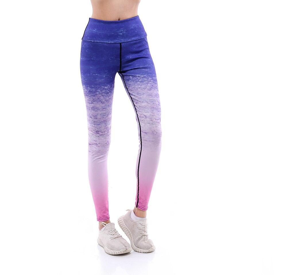 Buteefull Pinggang Tinggi Celana Kebugaran Legging 3d Ungu Berwarna Merah Muda Cetak Kebugaran Pakaian Wanita Celana Wanita Xxxl Xxl Xl Ukuran Legging Aliexpress