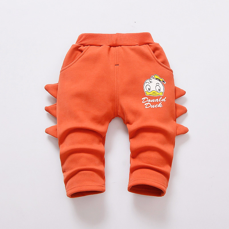 8f5df6443c7 Baby Pants Boys Girls Sport Pants Children Thick Winter Warm Long Trousers  Baby Plus Velvet Cartoon Printed Kids Pants 9 24M Tags: