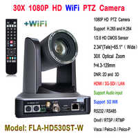 30x Optical zoom HDMI 3G-SDI Video Conference HD Wireless PTZ IP Camera for Web Conferencing system China supplier