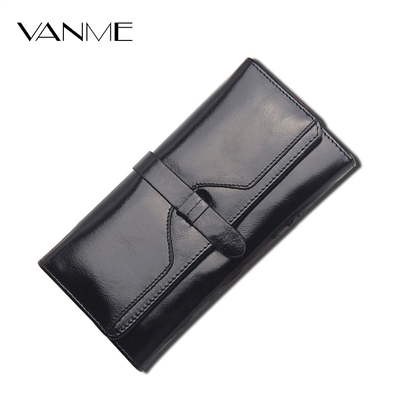 2017 New Sale Women Wallet Famous Brand Split Leather Long Hasp High Quality Credit Cards Purse Classic Coin Pocket Elegant Card 2016 new brand short women s wallet high quality guarantee designer s high heeled shoes hasp purse for lady free shipping