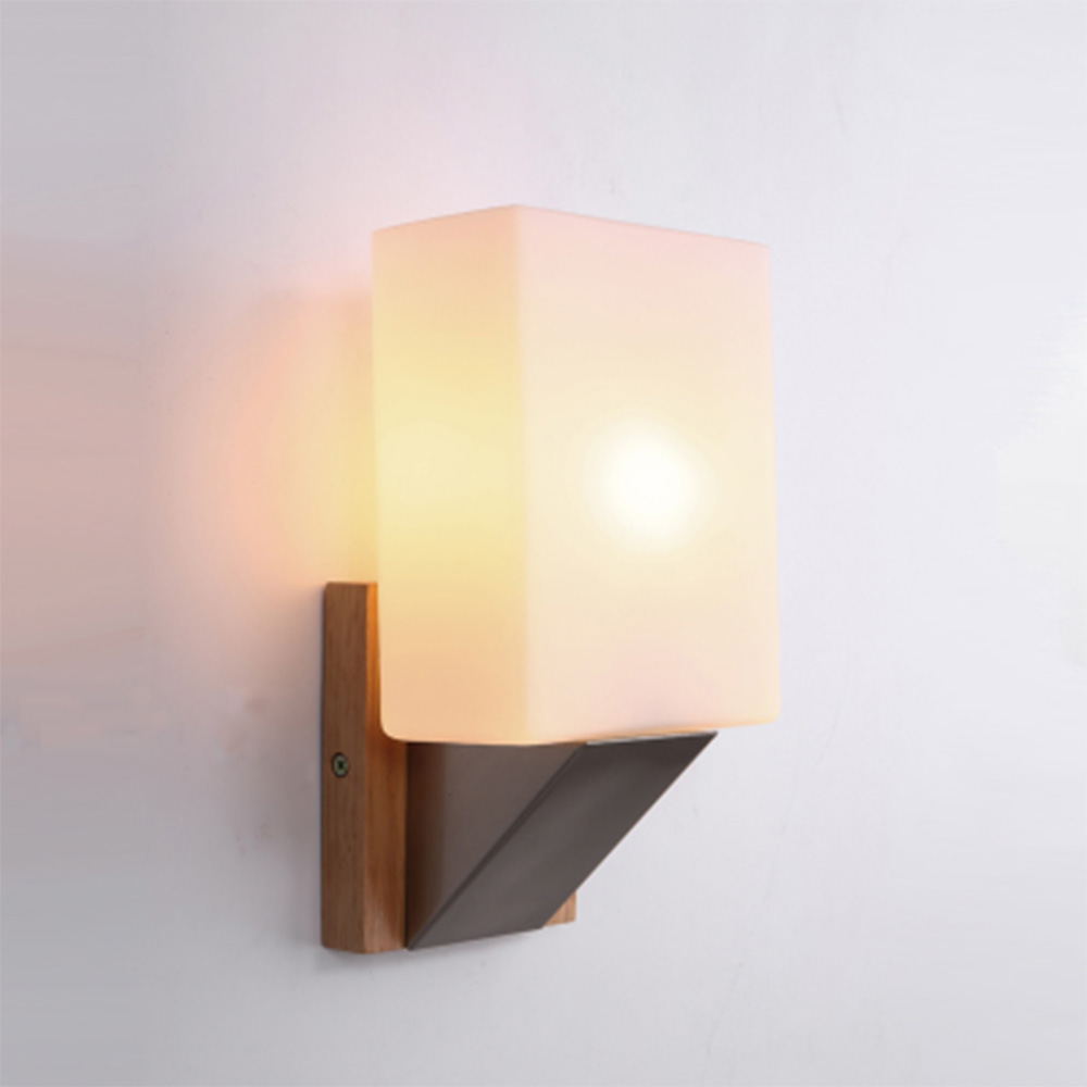 Sconce Wall Lights E27 Simple Modern Led Wall Lamp 110-220v Switch Button Living Room Lights Luminarias modern simple glass wall lamp led wall lighting corridor sconce 110 220v wrought iron wall stairs switch button lamp luminarias
