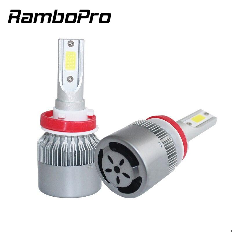 H4 H7 LED işıq mənbəyi H3 H8 H9 HB2 9003 HB1 9004 HB3 9005 HB4 - Avtomobil işıqları - Fotoqrafiya 1