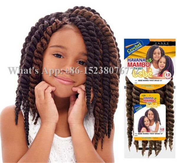 Good Quality Short Length Havana Mambo Twist Crochet Hair