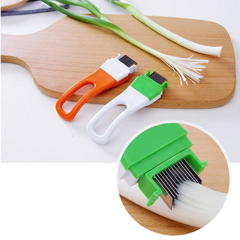 1Pc Onion Garlic Knife Shredders Slicers Crusher Vegetable Cutter Cut Garlic Shallot Device Graters Kitchen Cooking Tool NXH1300