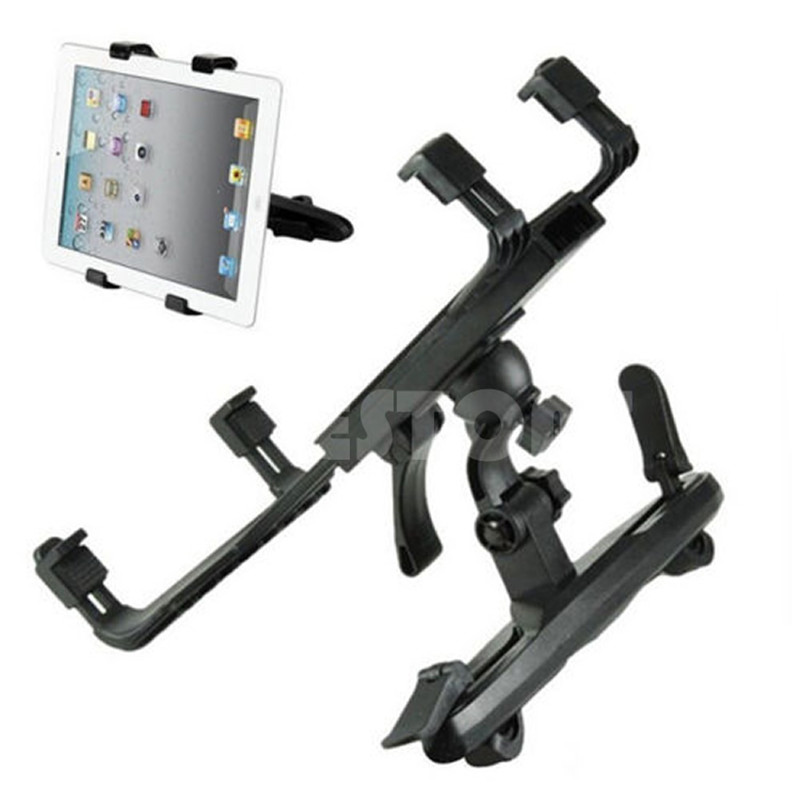 Universal 360 Degrees Adjustable Car Back Seat Headrest Mount Holder For Tablet 7 inch to 12 inch Laptop Box