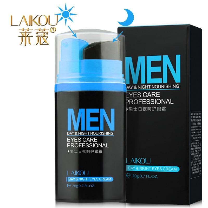 Men Day & Night Anti-wrinkle Eye Cream Remove Black Eye Circle Puffiness Wrinkles Eye Cream 20g