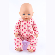 43cm Zapf Baby Born Doll Clothes All kinds of style clothes children Christmas gift free shipping the doll m37