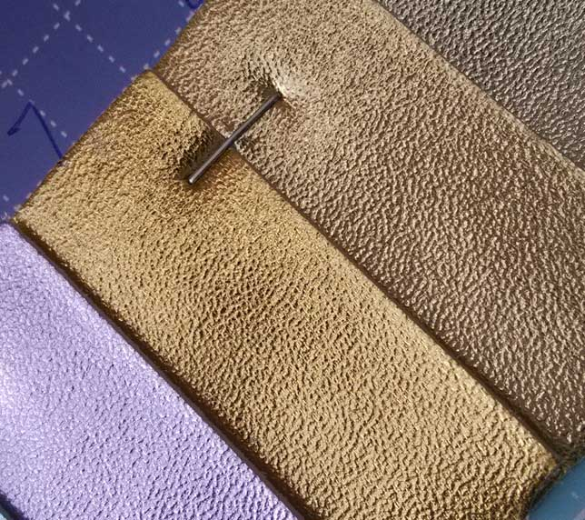 Metal Pattern 100 Texture Microfiber Leather Material 1 0mm Thickness