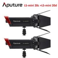 Aputure LS mini 20c + LS mini 20d fill light CRI 97 COB light Color Temperature 3200K 6500K fresnel led film light