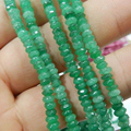 Natural Stone Jasper Jade Abacus Rondelle Jaspers 2x4mm Faceted Abacus Chalcedony Loose Beads jewelry Making 15inch GE302