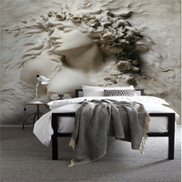 Beibehang Wall Papers Home Decor Custom HD 3D Photo Mural Wallpaper Embossed Beauty Background Decorative Painting