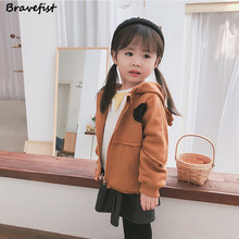 BraveFist 100% Cotton Baby Boys Girls Coat Long Sleeve