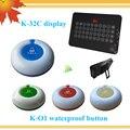 Quanzhou produto eletrônico chamando buzzer sistema de chamada sem fio