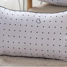 Домашние постельные принадлежности, шелковая подушка, забота о здоровье, шейный сердечник, 48*74 см, подушка для интерьера, внутреннее наполнение, одна подушка