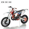 Freeshipping AUTOMAXX EXC-300 Seis Días 1/12 Motocicletas KTM Modelo de Juguete Diecast Metal Moto Para Recoger