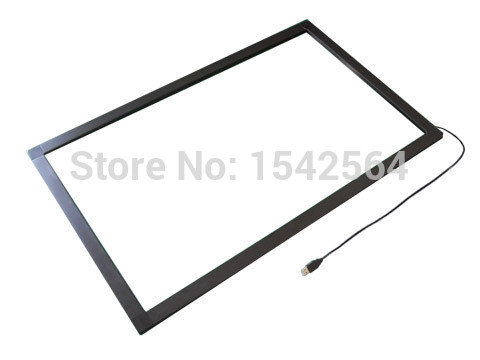 2 points USB IR touch screen,21.5 inch multi touch Overlay /multi touch frame/multi touch screen panel