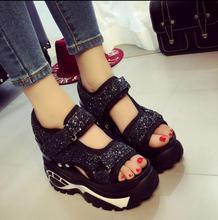 Women sandals brand designer women's shoes high quality platform shoes with beautiful women beach shoes sexy black sandals недорго, оригинальная цена