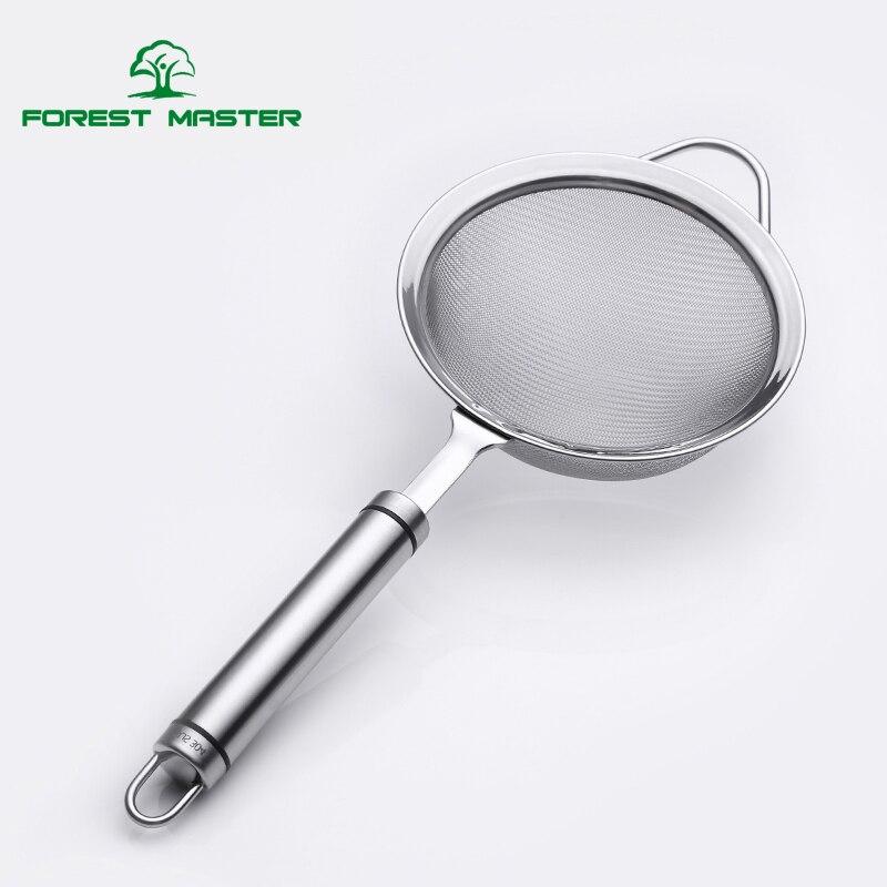 18/8 Stainless steel Fine Mesh Strainer, Food Strainer ,5.5/4.7/4 inch Colander Sieve , Prefect Sugar & Flour Sifter