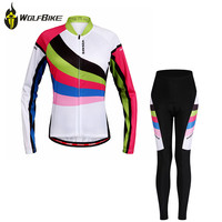 WOSAWE Cycling jersey women's breathable 3D seamless cut long sleeve shirts MTB ropa de ciclismo profesional bicycle clothing