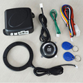Бесключевая кнопка для автомобиля RFID HiddenLock Противоугонный стартер двигателя черный