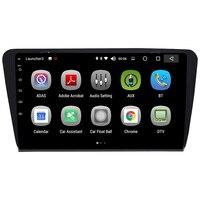 Android 8,0 автомобильный мультимедийный плеер 8 дюймов аудио Радио Видео развлечения я навигация din системы для Skoda Octavia A7 2014 2018