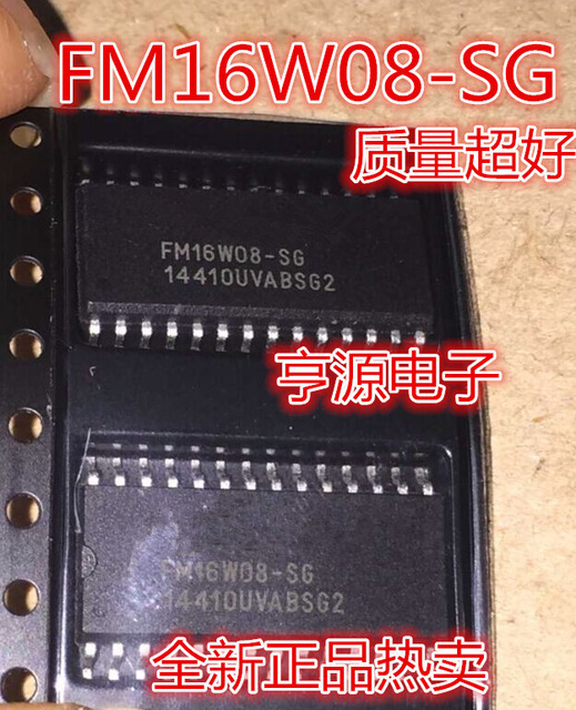 10pcs/lot FM16W08 SG FM16W08 16W08 SG SOP 28 In Stock