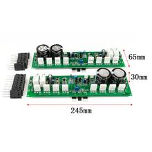 One Pair PR-800 1000W Class A /AB TTA1943 TTC5200 HIFI AMP Dual Amplifier Finished Board mm amplifier board pcba turntables phono amp opa2111kp germany dual circuit attenuated riaa purple 35v version hifi diy c2 003