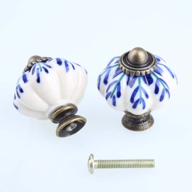 handles hardware cabinet ceramic pulls white of on knobs or full gold cabinets porcelain size iron