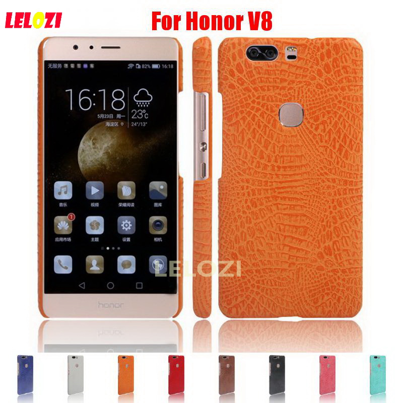 LELOZI Crocodile Snake Pattern Hard PC men girls PU Leather Phone Etui Coque Case kryty For Huawei Ascend Honor V8 V 8 Cheap