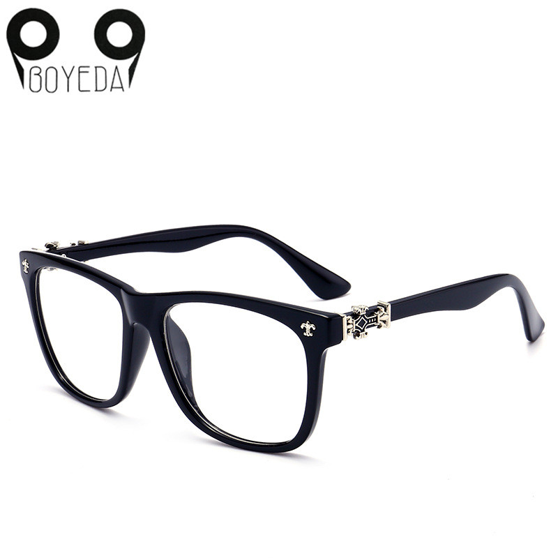BOYEDA Vintage Plastic Eyeglass Frames Women Round Reading ...