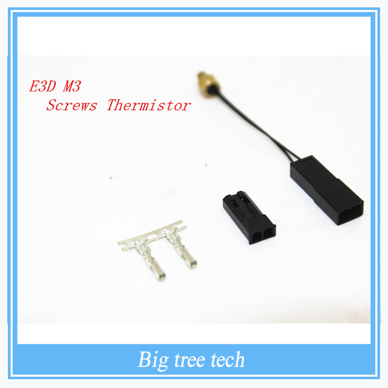 High Quality Durable Modular Screw On M3 Stud Thermistor for Reprap Prusa 3D Printer Hot End