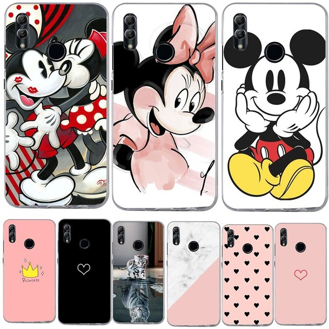 For P Smart 2019 Honor 10 Lite Case Silicone 3D Painting Soft TPU Back Cover Capa For Huawei P20 P9 P10 Lite