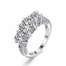14K Gold and Diamond Wedding Rings for Women Anillos De Gemstone Amethyst Bizuteria Bague or Jaune Jewelry Diamante