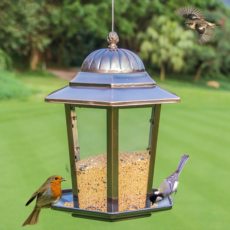 Outdoor bird feeder garden community balcony bird feeding feed trough supplies ZP12191106