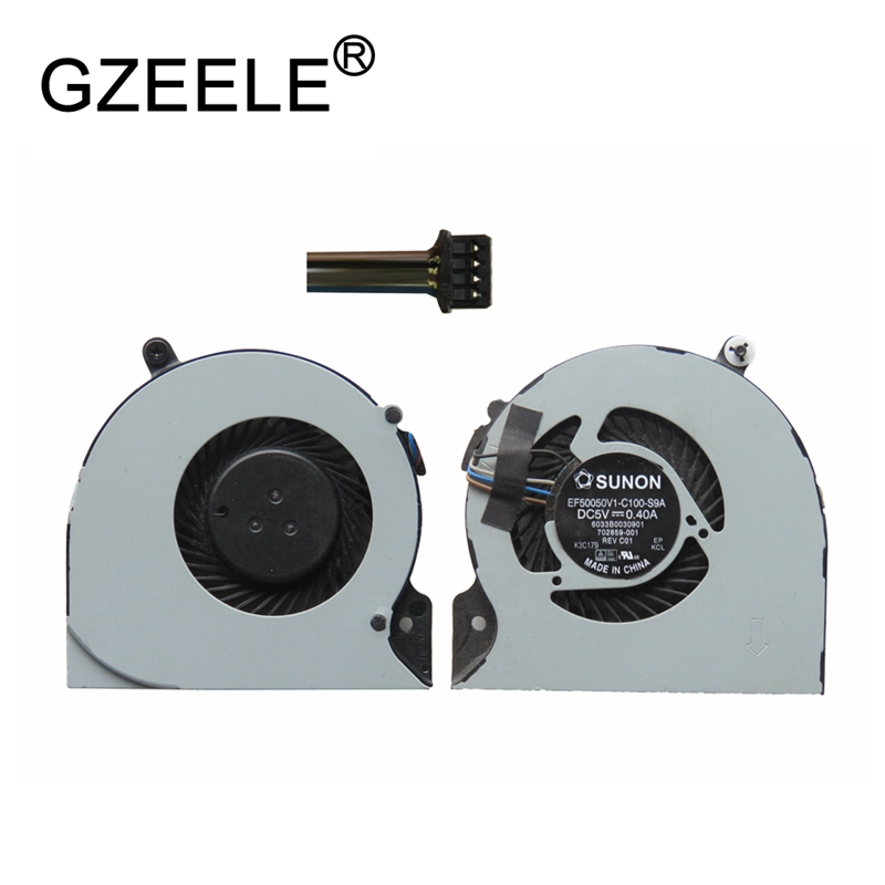 GZEELE Used CPU Cooling Fan For HP EliteBook Folio 9470m Series Laptop Notebook Cooler FAN Laptops COOLING SPS: 702859-001